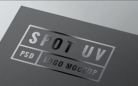 UV spot craftwork in card manufacture