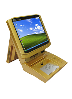 Visitor Management Kiosk(Desktop) - S-VM202-GOLD